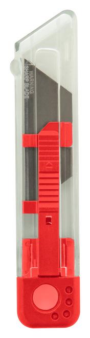 Cutter din plastic cu lamă cu retragere automată