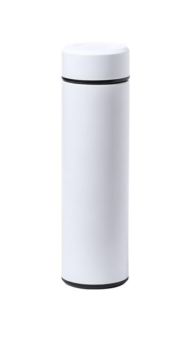 Plusek, termos din otel inoxidabil de 500 ml, cu perete dublu si cu posibilitate de personalizare corporate