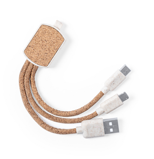 Guiss - keyring USB charger cable
