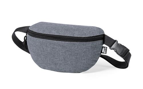 borseta din RPET cu compartiment cu fermoar și curea reglabila