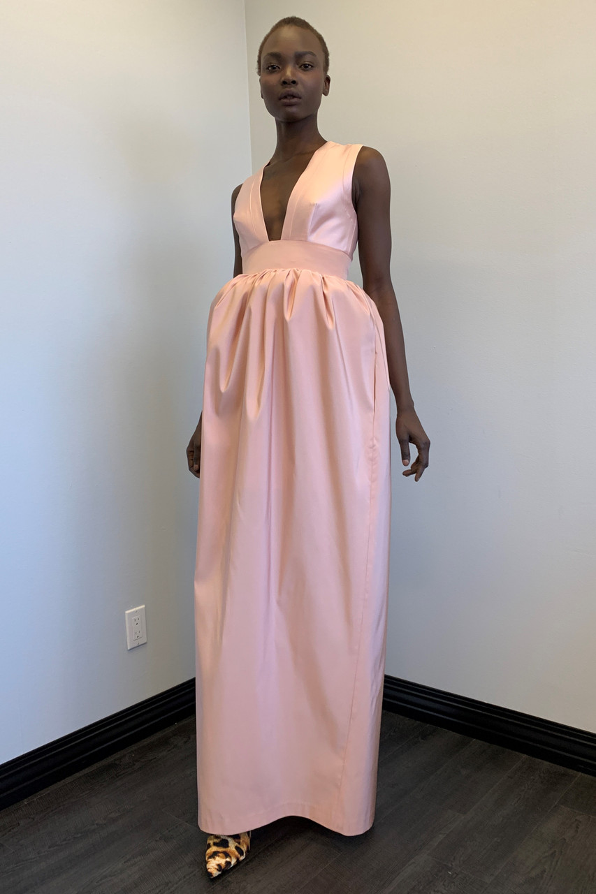 Greta Constantine Colton Empire-waist Gown