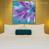 Bloom Limbs Abstract Watercolor Botanical Framed Smudge Photo Canvas Print for Bedroom Wall Decor