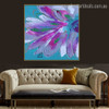Bloom Limbs Abstract Watercolor Botanical Framed Smudge Photo Canvas Print for Room Wall Disposition