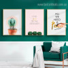 Echinopsis Pachanoi Botanical Framed Portraiture Photo Canvas Quote Prints for Room Wall Drape