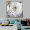 Anemone Hupehensis Abstract Modern Floral Watercolor Framed Scheme Photo Canvas Print for Room Wall Assortment