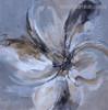 Bloom Petals Abstract Botanical Modern Framed Tableau Photo Canvas Print