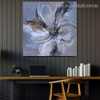 Bloom Petals Abstract Botanical Modern Framed Tableau Photo Canvas Print for Room Wall Outfit
