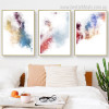 Chromatic Shade Art Abstract Modern Framed Effigy Picture Canvas Print for Room Wall Molding