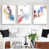Chromatic Shade Art Abstract Modern Framed Effigy Picture Canvas Print for Room Wall Adornment