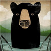 Black Bear Anime Animal Contemporary Modern Framed Painting Picture Canvas Print