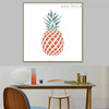 Ananas Botanical Nordic Framed Painting Photo Canvas Print for Dining Room Wall Decoration