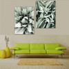 Cactus Leaves Botanical Modern Framed Portraiture Photo Canvas Print for Room Wall Assortment