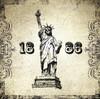 Statue of Liberty 1886 Architecture City Vintage Framed Portmanteau Picture Canvas Print