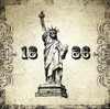 Statue of Liberty 1886 Architecture City Vintage Framed Resemblance Photo Canvas Print