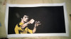 Kung Fu Superstar Bruce Lee Print Poster Home Decoration