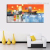 Profound Landscape Abstract Modern Framed Tableau Image Canvas Print for Room Wall Decoration