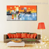 Profound Landscape Abstract Modern Framed Tableau Image Canvas Print for Room Wall Disposition