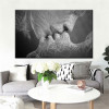 Love Kiss abstract picture living room wall art decor.