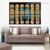 Sheikh Zayed Masjid Islamic Religious Modern Framed Resemblance Portrait Canvas Print for Room Wall Decor