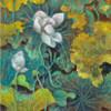 Bean of India Botanical Watercolor Framed Likeness Photo Canvas Print