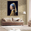 Netherlands Jan Vermeer Girl with A Pearl Earring Poster For Living Room Wall