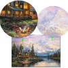 Cathedral Mountain Lodge Landscape poster without wall