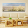 Island Seascape Landscape Modern Framed Perspective Image Canvas Print for Room Wall Flourish