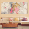 Abstract Art Craft Hand Painting Print for Living Room Wall Decoration