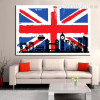 Big Ben England City Contemporary Framed Resemblance Portrait Canvas Print for Lounge Room Wall Ornament