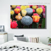 Cactus Flowers Botanical Contemporary Framed Painting Image Canvas Print for Room Wall Onlay