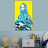 Mona Lisa Painting Abstract Contemporary Framed Picture Canvas Print for Kids Room Wall Onlay