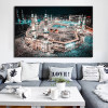 The Great Islamic Mosque Kabba of Mecca Print for Living Room.