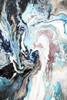 Chromatic Abstract Modern Framed Portmanteau Portrait Canvas Print