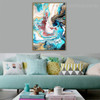 Fusion Abstract Modern Framed Scheme Portrait Canvas Print for Room Wall Adornment