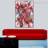 Dye Mixing Abstract Modern Framed Effigy Photo Canvas Print for Lounge Room Wall Ornament