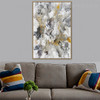 Dash Abstract Modern Framed Artwork Snapshot Canvas Print for Room Wall Decoration