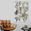 Dash Abstract Modern Framed Artwork Snapshot Canvas Print for Living Room Wall Disposition