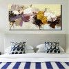 Modern Abstract Flower Bouquet Painting Print for Bedroom Wall Art Décor.