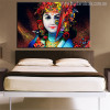 Beautiful Lord Krishna Picture Print for Home Wall Decor