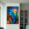 Buddha Picture Print for Study Room Wall Decor