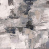 Gray Abstract Oil Painting Print