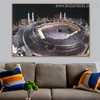 Great Mosque Mecca Islamic Religious Contemporary Framed Artwork Photo Canvas Print for Room Wall Outfit