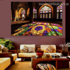 Masjid Indoor Islamic Religion & Spirituality Contemporary Framed Artwork Shot Print for Wall Hanging Decor