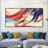 Color Mixer Abstract Contemporary Framed Painting Photo Canvas Print for Room Wall Decor