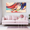 Color Mixer Abstract Contemporary Framed Painting Photo Canvas Print for Wall Ornament