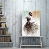 Abstract Dancing Girl Oil Painting Print for Wall Decoration