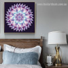 Gradient Mandala Abstract Modern Floral Framed Painting Photo Canvas Print for Room Wall Outfit
