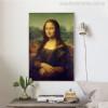 Mona Lisa Painting Print for Living Room Wall Art