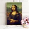 Mona Lisa Painting Print for Home Wall Decor