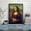 Mona Lisa Painting Print for Study Room Wall Decor